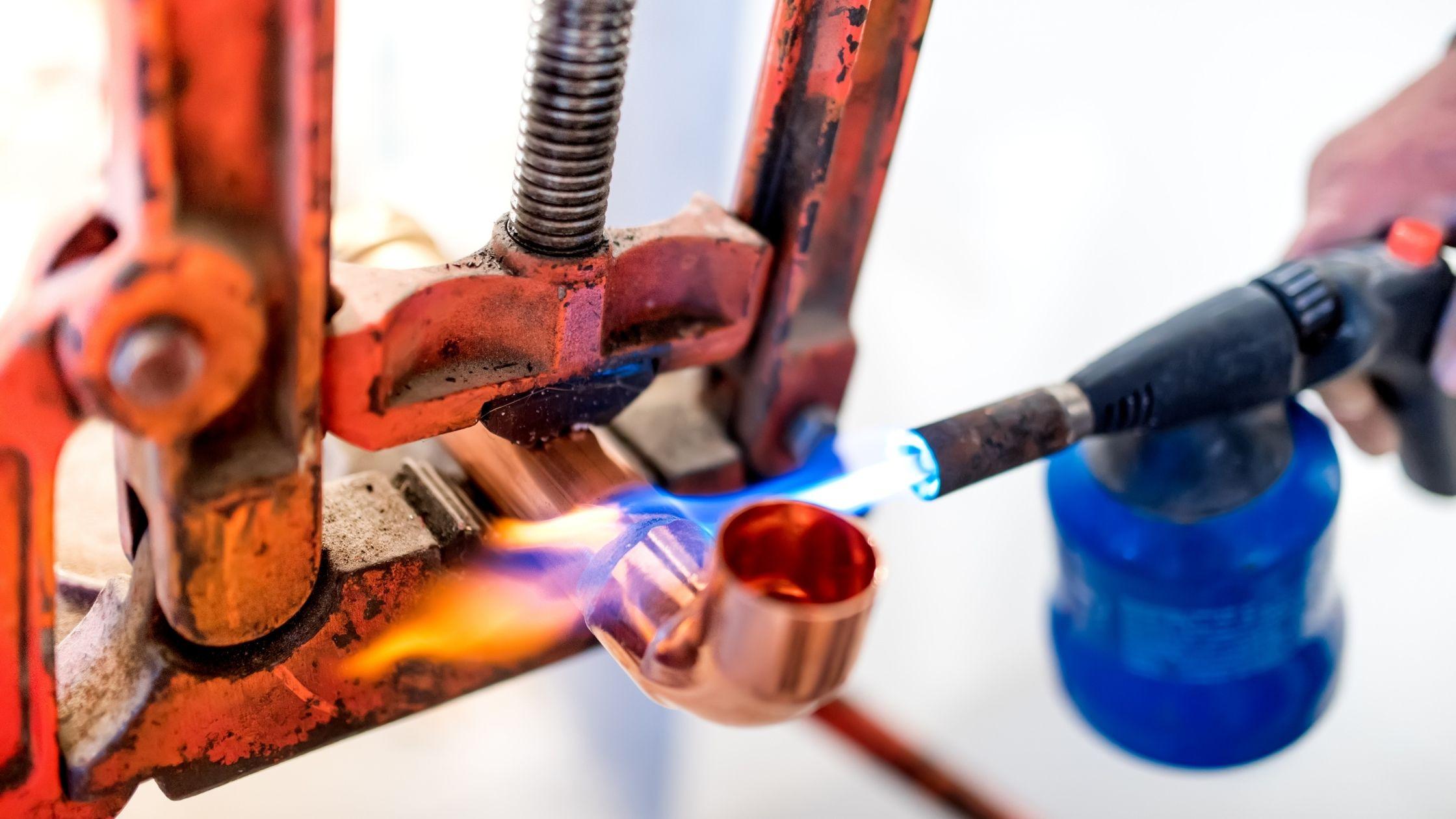 Réparation tuyaux en cuivre